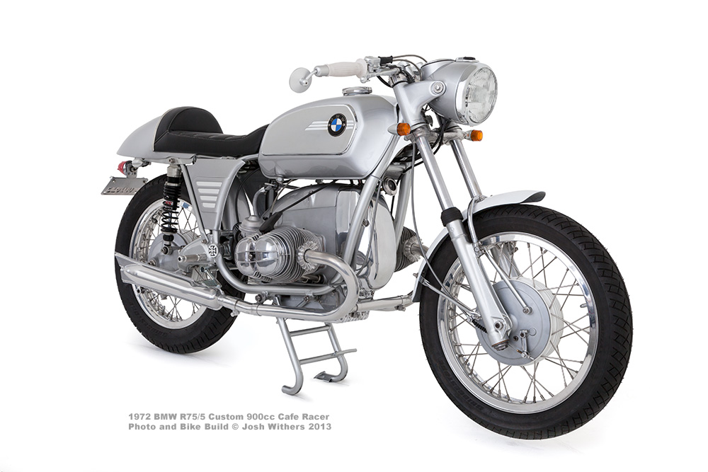 Shane Balkowitsch 1971 BMW Cafe Racer Motorcycle